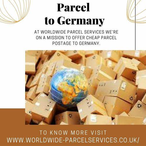Parcel to Germany via Alpha war