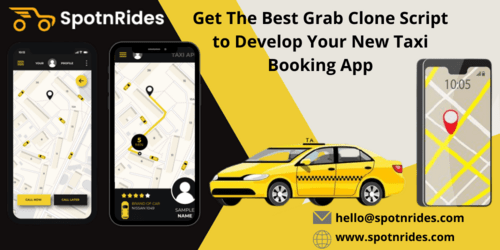 SpotnRides - Get The Best Grab Clone Script to Develop Your ... via william786
