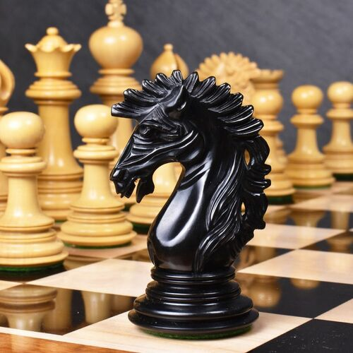 They have been beautifully handcrafted using high grade Ebon... via Royal Chess Mall