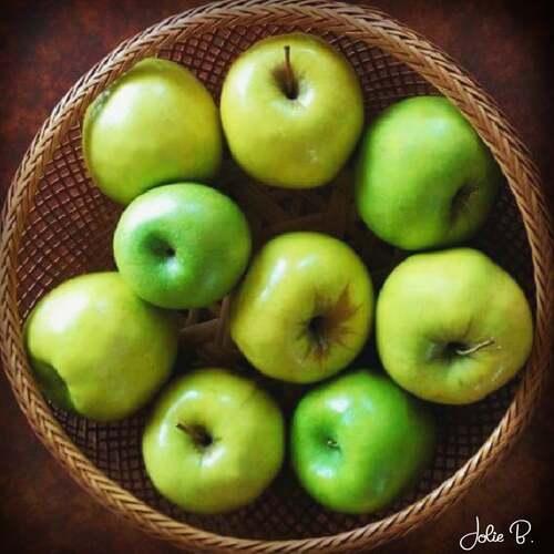 Basket of Apples by Jolie Buchanan via Jolie Buchanan