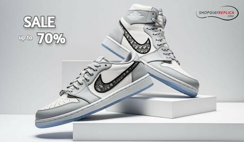 Shop bán giày nike jordan 1 ở hà nội chất lượng chuẩn rep 1:... via shopgiayreplica
