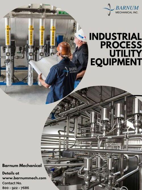 Process Utility Systems - Barnum Mechanical via Barnum Mechanical