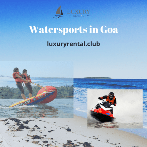 Luxury Rentals – The Best Place to Enjoy Watersports in Goa! via Luxury Rental