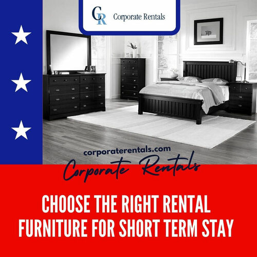 Choose The Right Rental Furniture for Short Term Stay