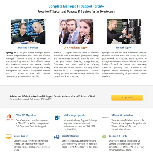 Synergy IT Solutions is one of the trusted source of managed... via RodDIYguy