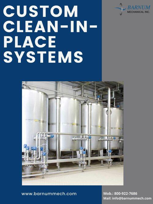 Clean in Place System - Barnum Mechanical via Barnum Mechanical