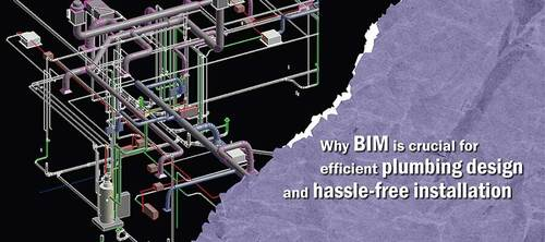 How BIM Enhances Efficiency in Plumbing Layout and Installat... via Hitech CADD Services