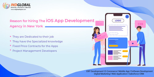 Reasons for hiring the iOS app development agency in New Yor... via Indglobal Digital