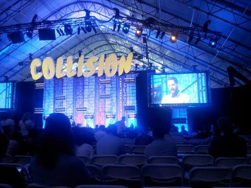 Lots of interesting new startups and talks at #collision via DashBurst
