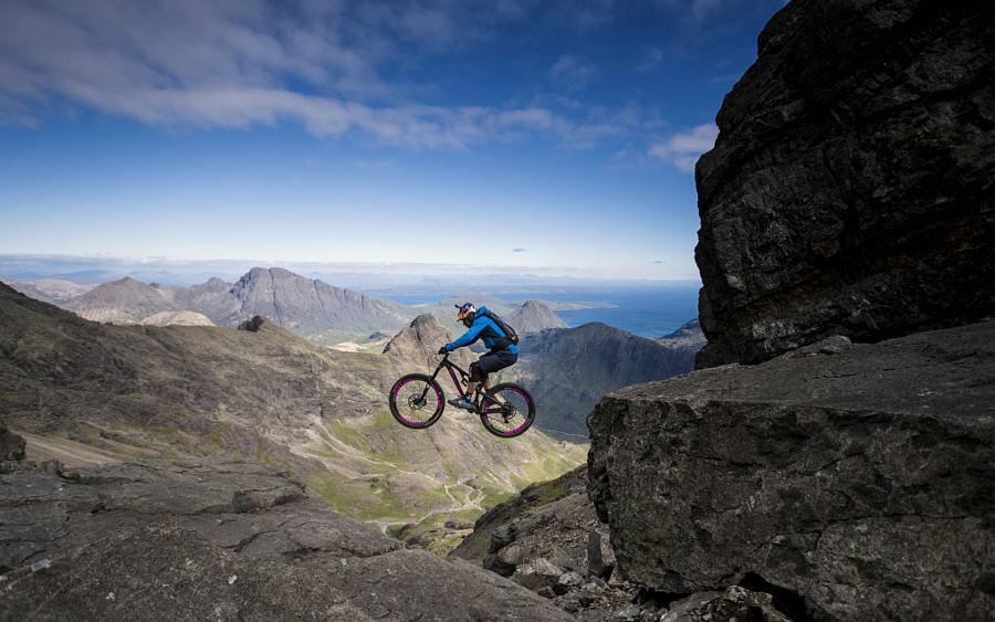 The Most Incredible Mountain Bike Photo on 500px Has a Video... via Bett Schmidt