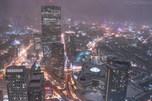 Throwback to that Foggy Boston Night                                     #photo #art #photograph... via Tony Bennett