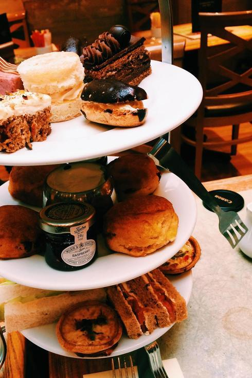 Classic afternoon tea in London.. Check! via Grace Wong