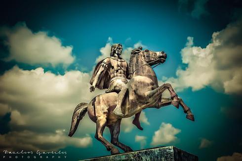 Alexander the Great                                                                          Alexander III of Macedon (20/21 July 35... via Vasilios Gavrilis
