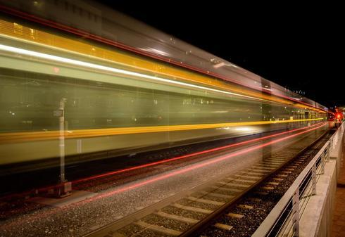 Another Train Goes By via Roger Brown