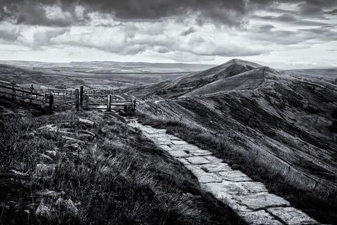 Another from Mam Tor in Derbyshire. I have now added a link ... via Dave