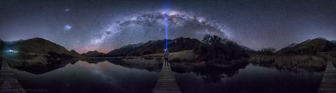 A 360 panorama I shot last night at Moke Lake near Queenstow... via Jordan McInally