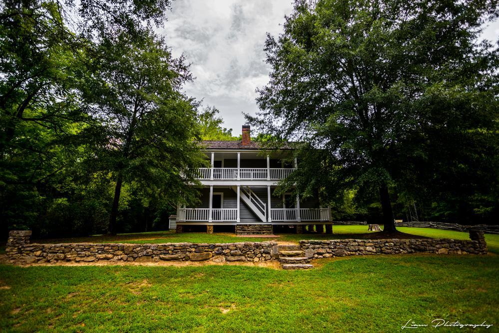Reverend Worcester's House, New Echota via Liam Douglas - Professional Photographer