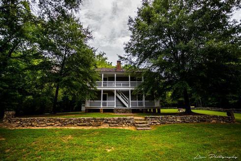 Reverend Worcester's House, New Echota via Liam Douglas - Professional Photographer