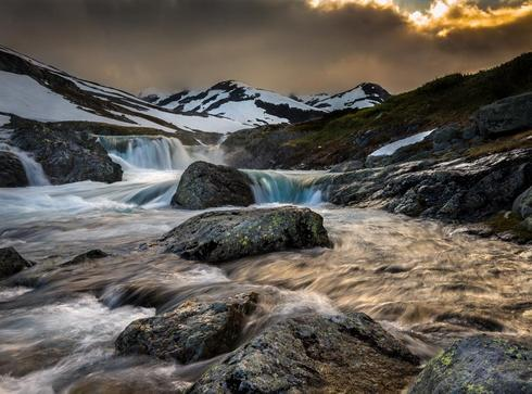 Filefjell, Norway. via Peter Földiak
