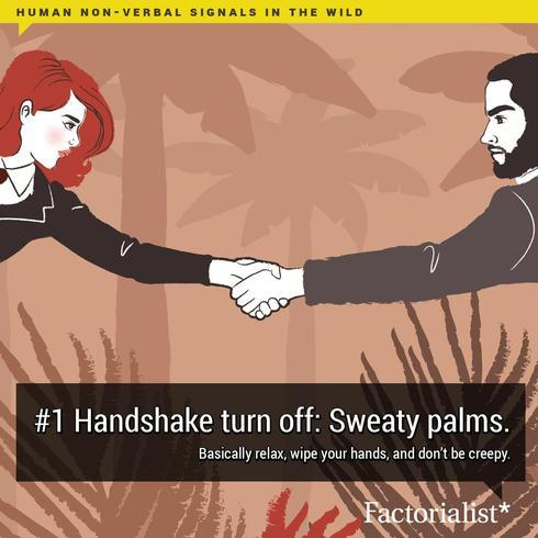 Like animals in the wild, humans rely a lot on body language... via Factorialist