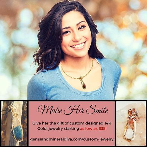 Need a gift idea for HER? Or for YOU? I design jewelry with ... via Johnna Sabri