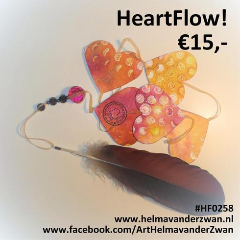 Give it away 2 you loved ones!! For sale HeartFlow!!                                      #Art #... via Helma van der Zwan