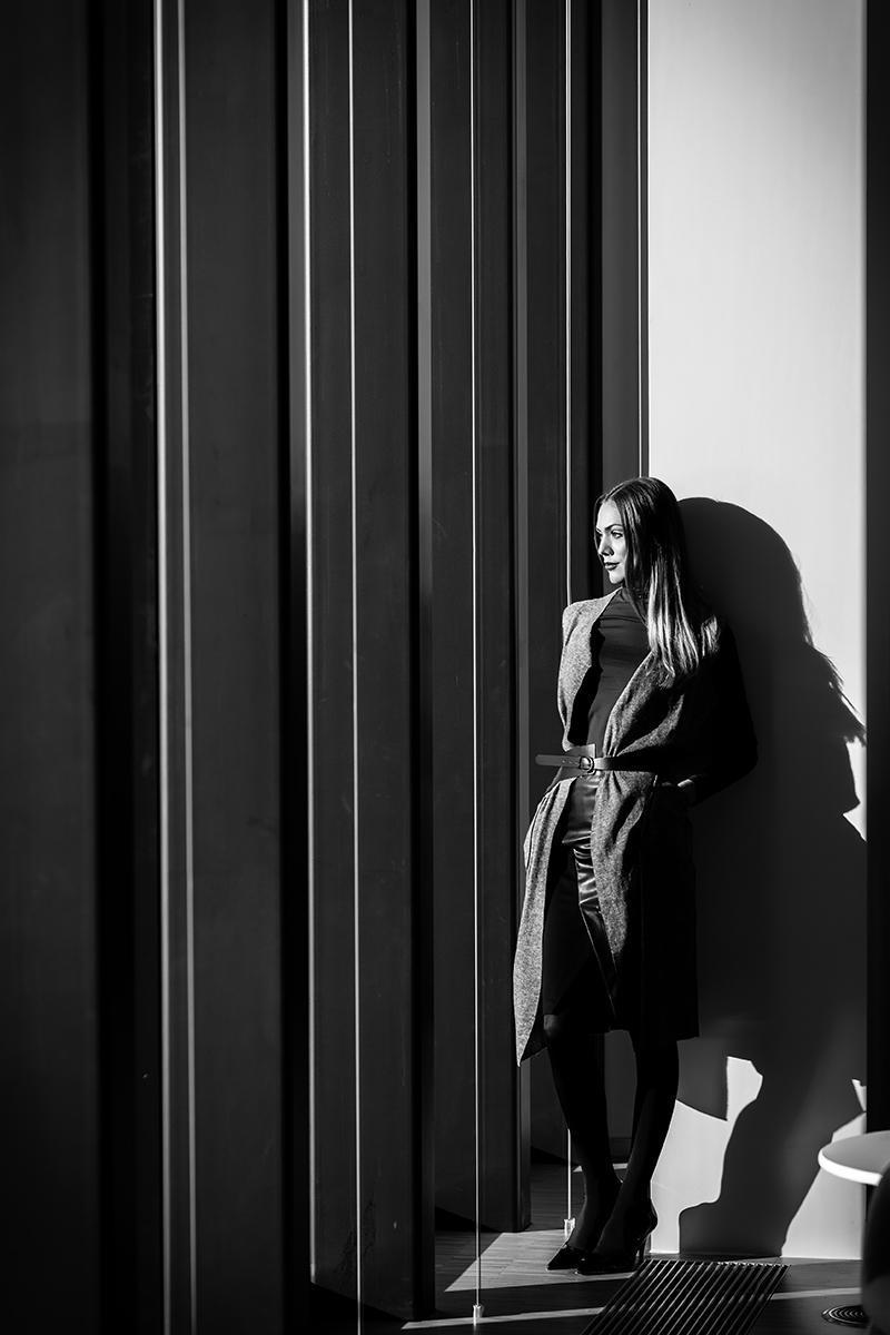50 shades of black via Mila Ritz