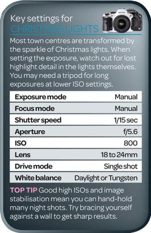 A how to photograph Christmas lights from our friends at Dig... via Liam Douglas - Professional Photographer