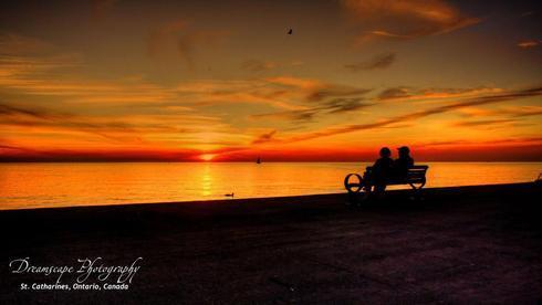 Catching the sunset via Ken Chambers