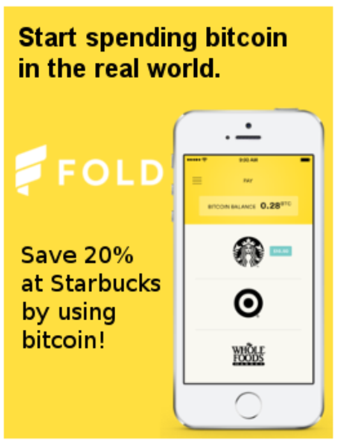 20% off at Starbucks ? Easy! Just pay with Bitcoin.                                     Is a gre... via Michael Q Todd