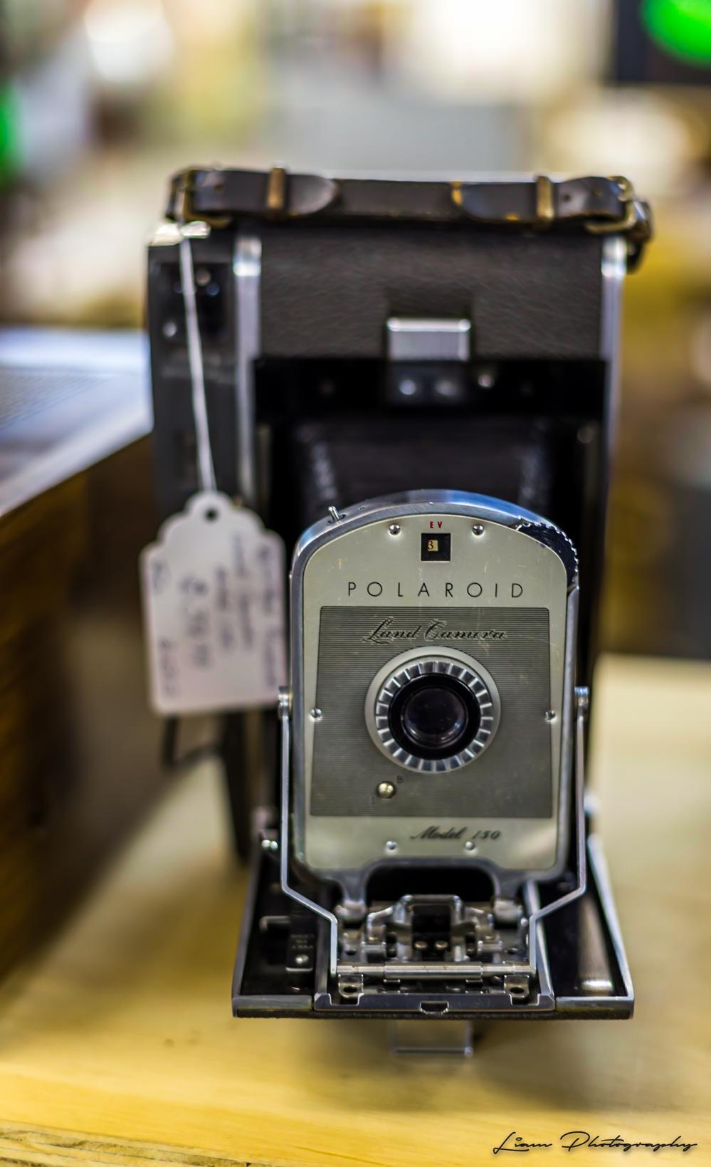 Old Polaroid Land Camera, Model 130 via Liam Douglas - Professional Photographer