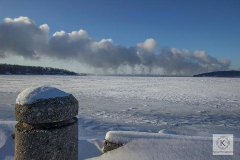 Cloud Train                                     Geneva Lake, WI via KayserPhotography