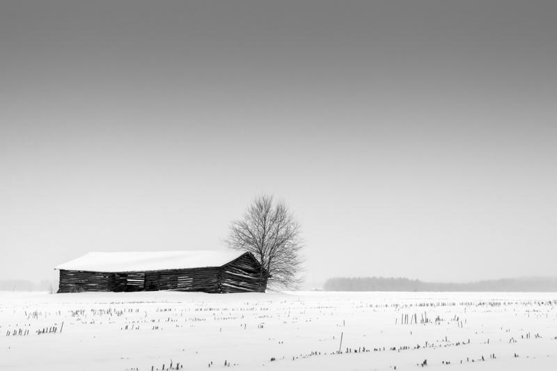 Old Abandoned Barn House via Jukka Heinovirta