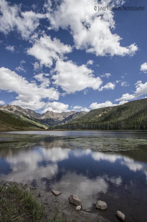 """""""Balance""""                                     Piney Lake, Colorado                                      Janie Viehman Photography via Janie Viehman Photography"""
