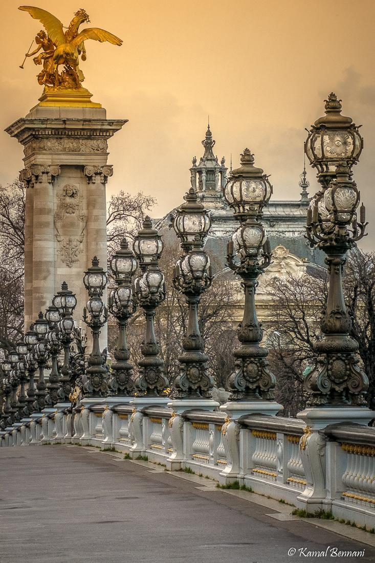 The bridge of superlatives - Alexandre III bridge / Paris via Kamal Bennani