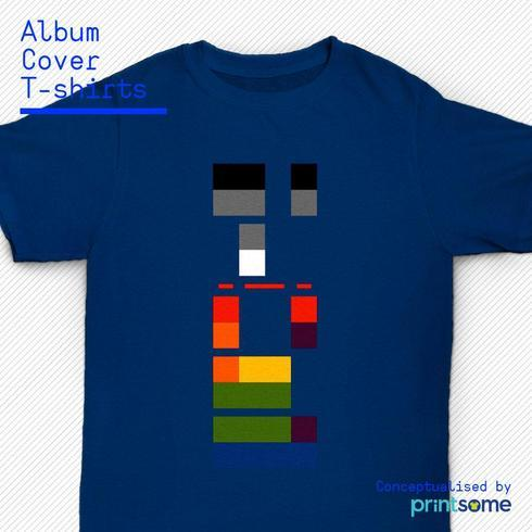 Ever wondered why some album cover art makes for a great t-s... via Printsome