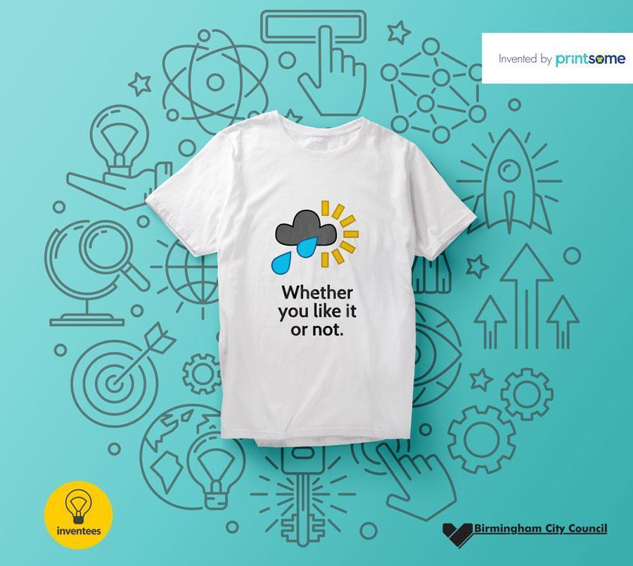 Creating a t-shirt brand for Birmingham: Inventees                                         http://pr... via Printsome