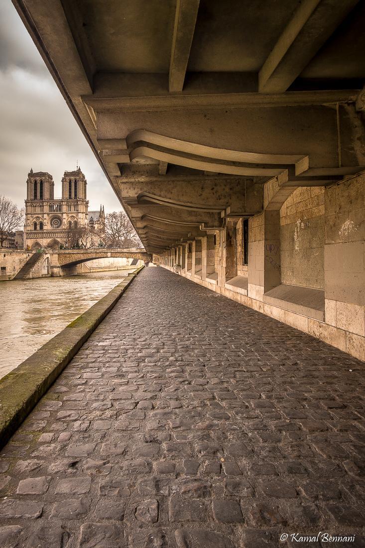 All the lines lead to Notre-Dame de Paris via Kamal Bennani
