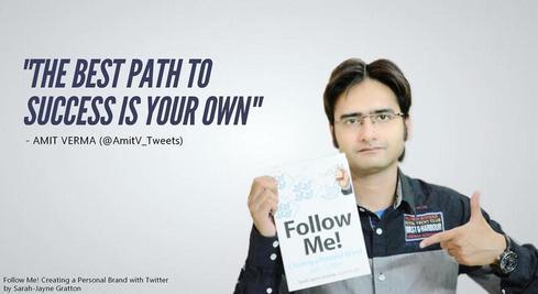 Follow Me! Creating a Personal Brand with Twitter by Sarah-J... via Amit Verma