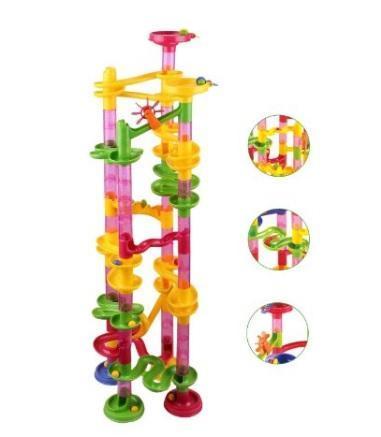 $27.99 ONLY                                          Marble Run Coaster 55 Piece Set with 40 Buildin... via michael jones