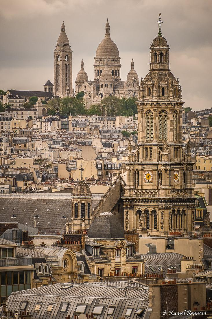 The rooftops of Paris (Montmartre) via Kamal Bennani