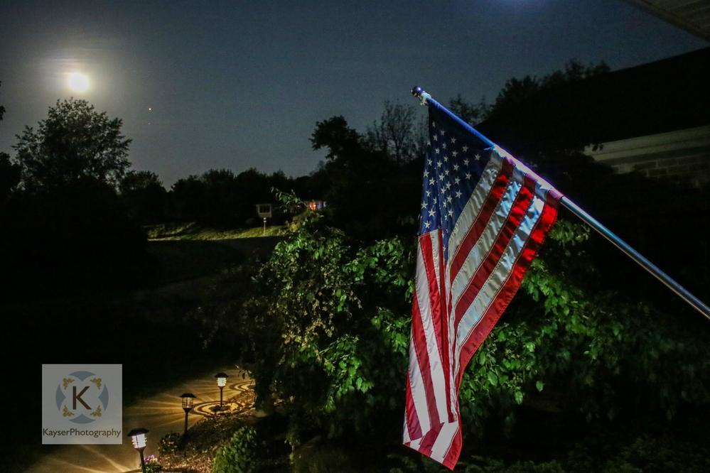 """Once in a """"Blue Moon"""" honors Armed Forces Day....... via KayserPhotography"""