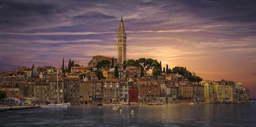 Rovinj ,Croatia.                                                                                  A magical town in Croatia. The beautiful R... via Rolando Felizola