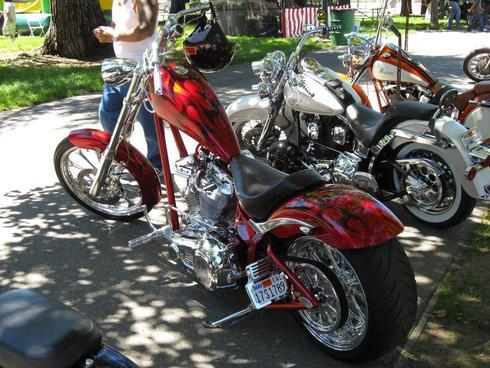 Custom Chopper Candy Flame Paint                                     Get your #fathersday projec... via Carl Sian
