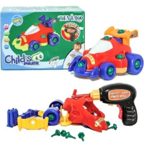 Racing Car                                      $15.99                                     Assemble/Disassemble with Drill and Tools via michael jones
