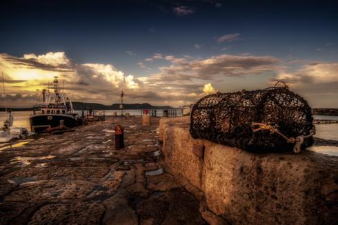 Lyme Regis The Cobb via Russell Clarke