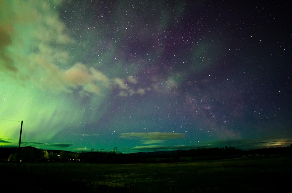 Aurora Borealis and the Milky Way? Beauty. #astrophotography... via Kaila Walton
