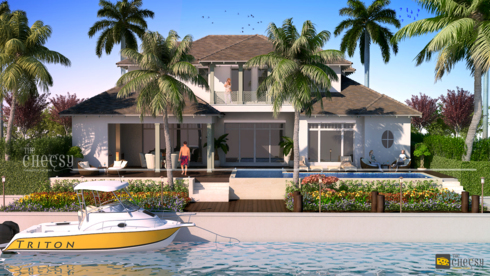 Architectural rendering, or architectural illustration, is t... via Vittoria Dmowska