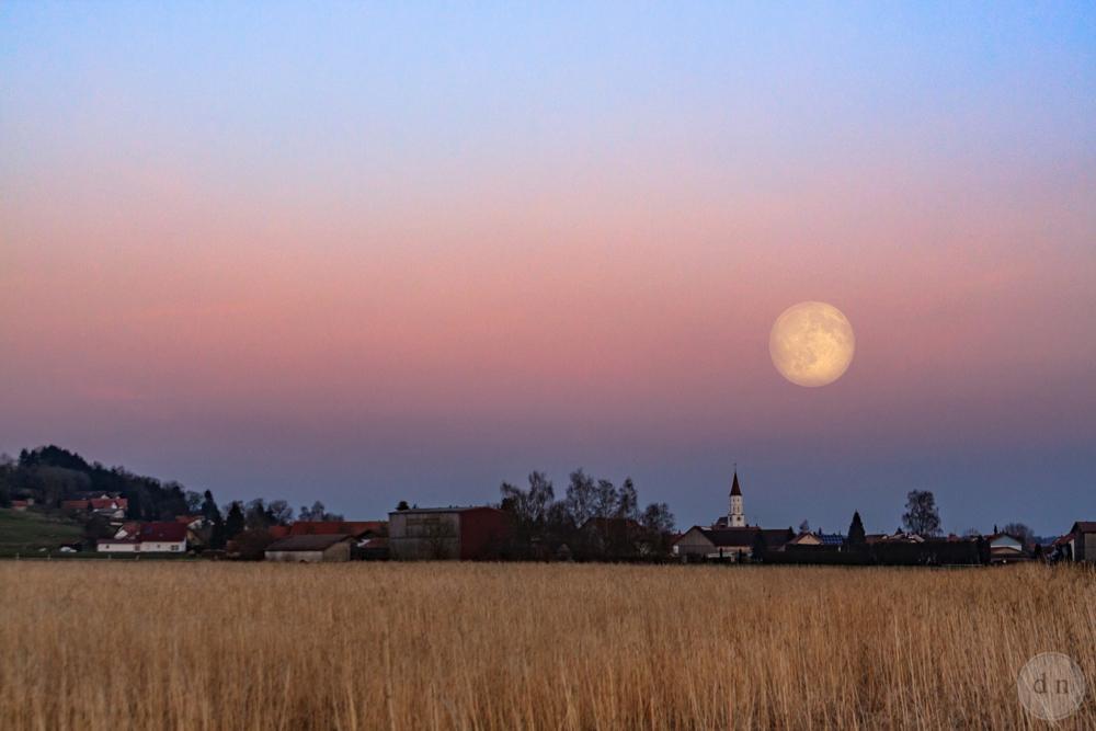 The Moon and the Venus belt! via Daniel Nicolae