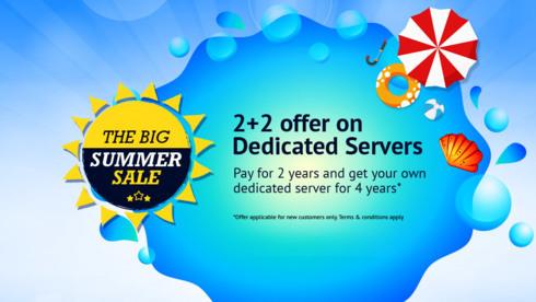 2+2 offer on Dedicated server. http://www.go4hosting.in/serv... via Go4Hosting